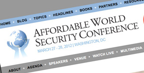 Affordable World Security Conference