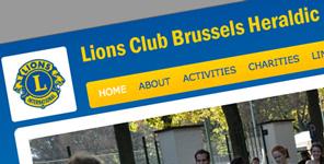Lions Club Brussels Heraldic