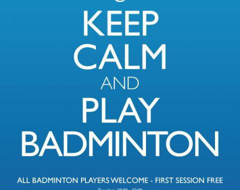 Brussels Badminton International Club Poster