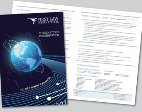 First Law International Brochure